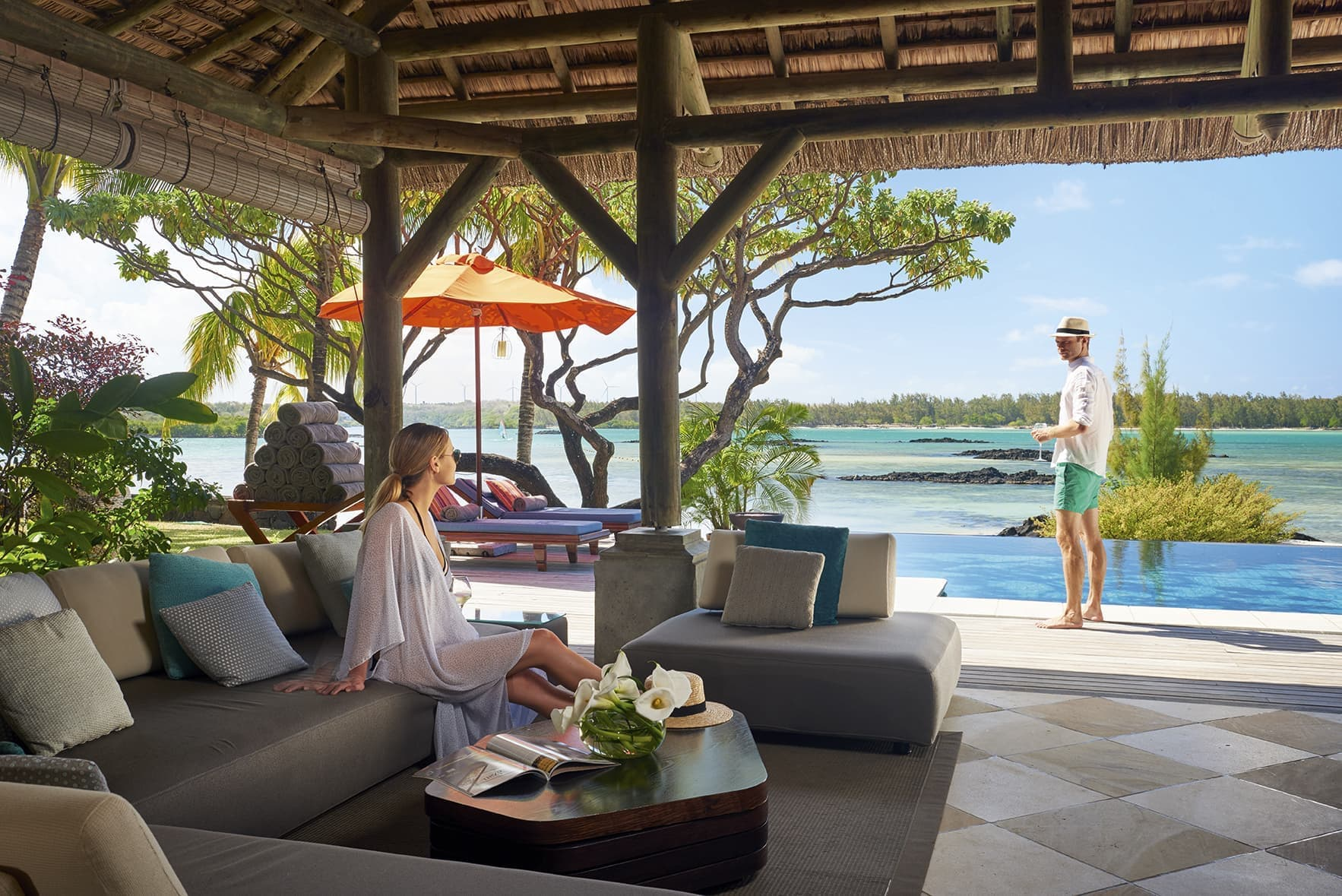Luxury treat at Constance Prince Maurice