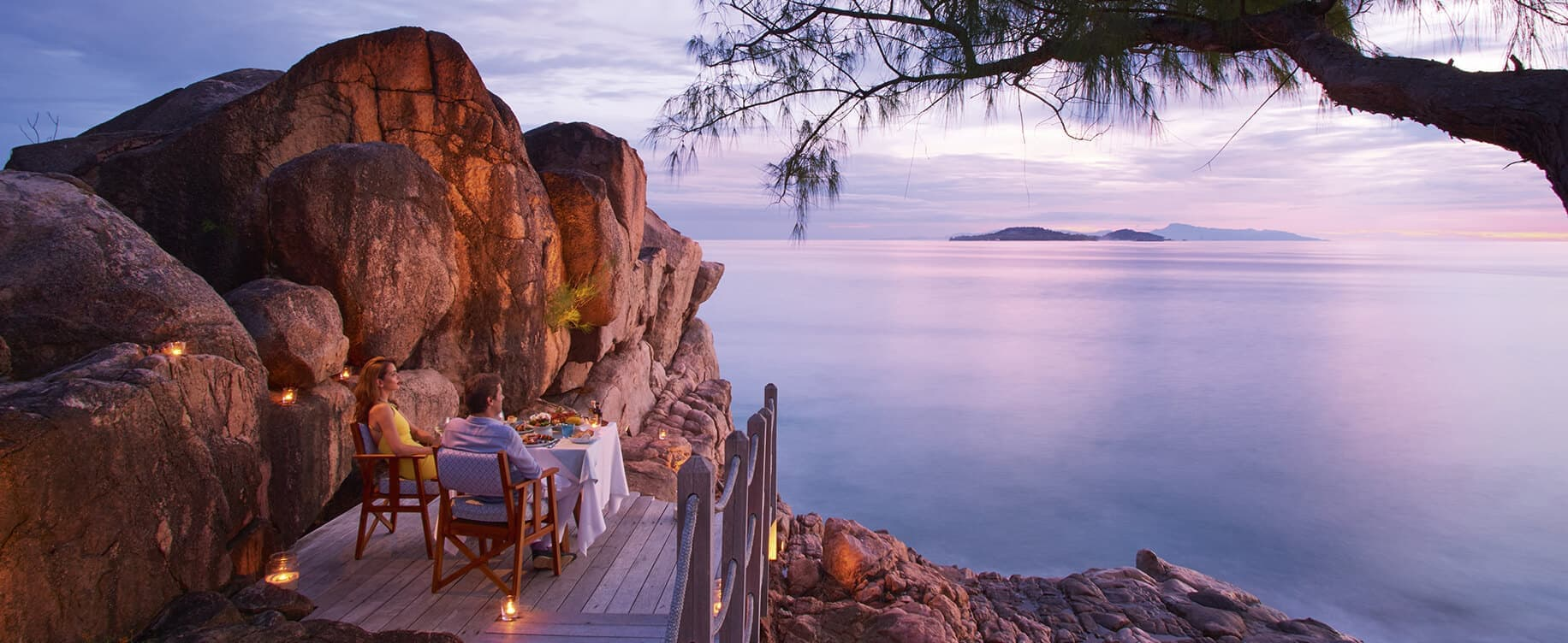 Romantic Dinner in the Seychelles at Constance Lemuria