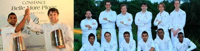 Culinary events constance belle mare plage mauritius for Auberge maison gauthier